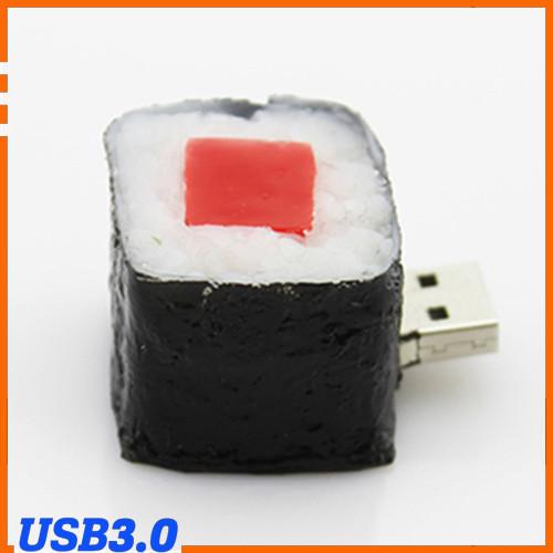 100% Genuine USB Flash Drive cartoon square sushi rice ball shaped memory stick pen drive USB 3.0 8GB 16GB 32GB 64GB pendrive(China (Mainland))