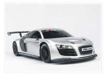 1:24 Audi R8 remote control car simulation models rc car electric car for kids gift White/silver toy cars