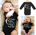 2016 cute new style Baby Rompers Toddler Infant Baby Black Printed Jumpsuit One pieces Romper 0