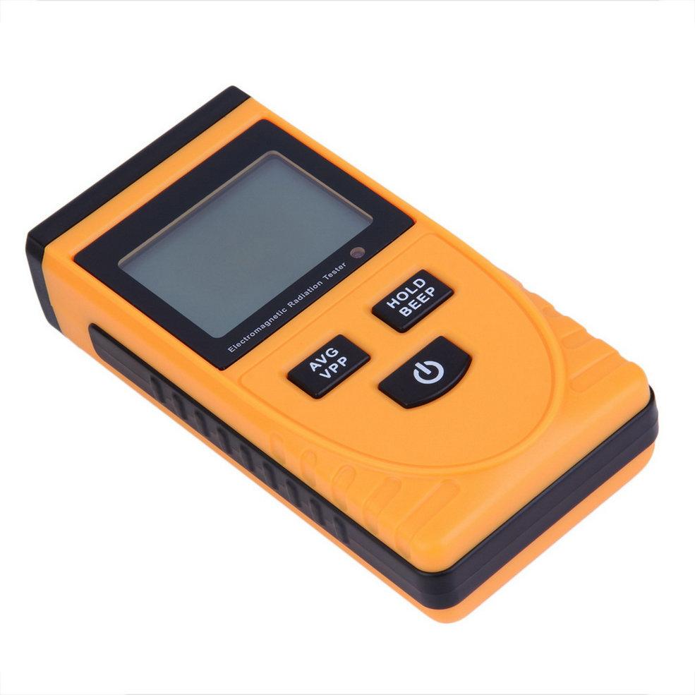 Digital LCD Electromagnetic Radiation Detector Meter Dosimeter Tester Counter free shipping
