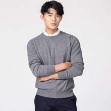 남자 풀오버 겨울 새로운 패션 v 넥 스웨터 캐시미어와 양모 니트 점퍼 남자 모직 의류 핫 세일 표준 남성 탑스(China)