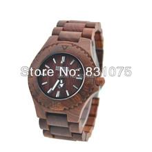 Reloj de moda 2014 Sandal Wood y madera de arce reloj Bewell reloj de madera en precio barato