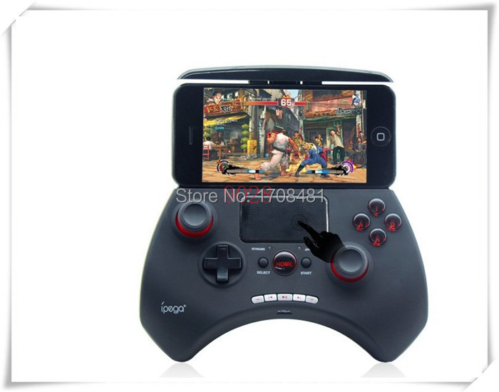 Newset! Ipega 9028 Wireless Bluetooth Unique Game controller Gamepad With Touchpad Support android/ios/android tv box/tablet pc(China (Mainland))
