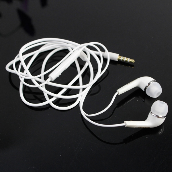 Wholesale-3.5mm Volume Control Microphone Earphone Headphones For Samsung Galaxy S2 S3 S4 MP3 MP4 Free Shipping(China (Mainland))