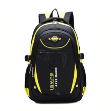 High quality students of school bags, lightweight and durable backpack is 10-14 year-old boy(China (Mainland))