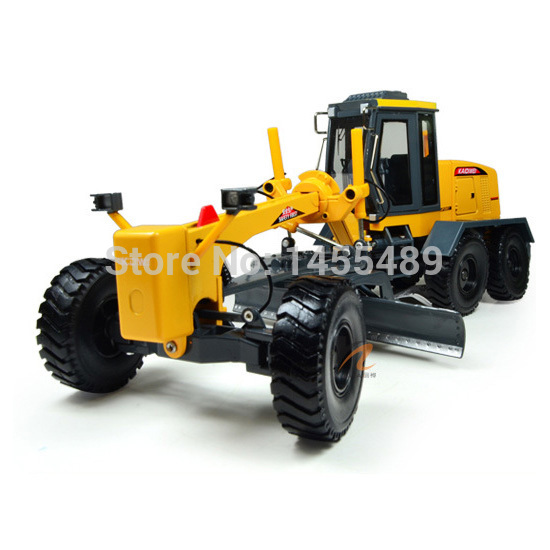 High Quality KDW 1:35 Scale Diecast Motor Grader Truck Construction Vehicle Toy Car Hobbies classic alloy engineering car model(China (Mainland))