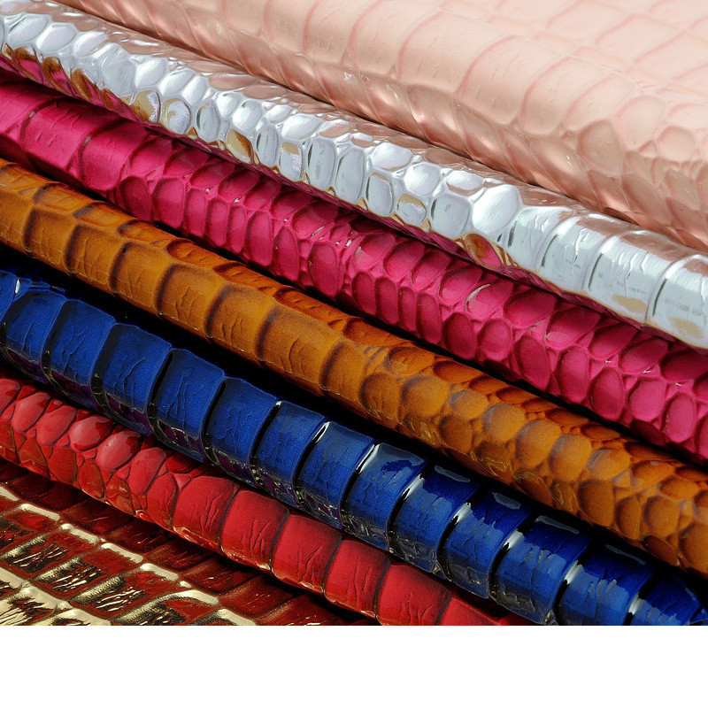 1.2mm thick colorful stone grain PU leahter for wallet, synthetic leather fabric, Imitation leather material(China (Mainland))