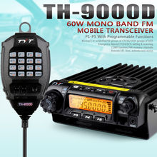 EMS/DHL Fast Shipping TYT TH-9000D Selectable Frequency Car Truck Ham Radio Transceiver CTCSS/DCS Scan with Program Cable