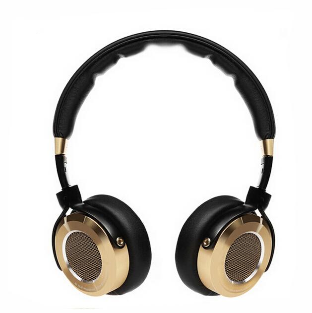 100% оригинал повязка на голову Xiaomi Mi HiFi наушников 50 мм бериллий мембранный стерео наушники с микрофоном золото + черный новый роскошный