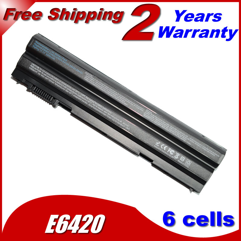 Laptop Battery For Dell Latitude E5420 E5420m E5520 E5530 E6430 E6520 E5430 E5520m E6420 E6530 E6440 For Inspiron 14R 15R(China (Mainland))