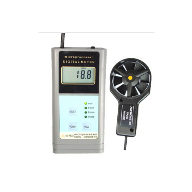 Landtek AM4832 Digital Anemometer Air Flow Meter Tester Wind Speed Gauge AM-4832 (WYX)(China (Mainland))