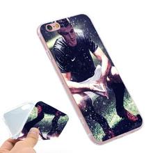 Cristiano Ronaldo CR7 Clear Soft TPU Slim Silicon Phone Case Cover iPhone 4 4S 5C 5 SE 5S 7 6 6S Plus 4.7 5.5 inch - Smartphone Fundas Carcasas (HK store Co.,Ltd)