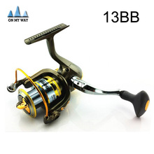 German Technology 12BB + 1 Bearing Balls 3000 Series Spinning Reel Two Colors Hot Sale Spinning  Fishing reel coil