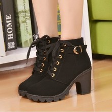 2015 Autumn and spring  martin boots women's shoes zipper sexy boots platform boots thick heel platform high-heeled single shoes(China (Mainland))