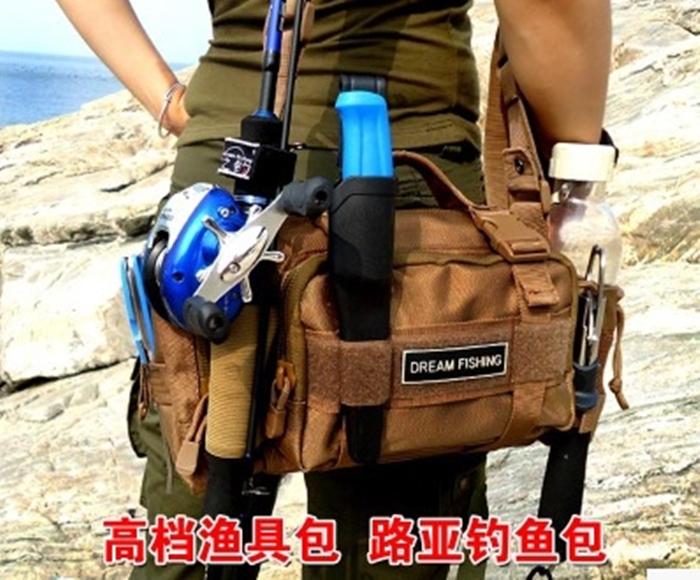 Рыболовная сумка TACKLE WORLD messenger FISHING BAG08