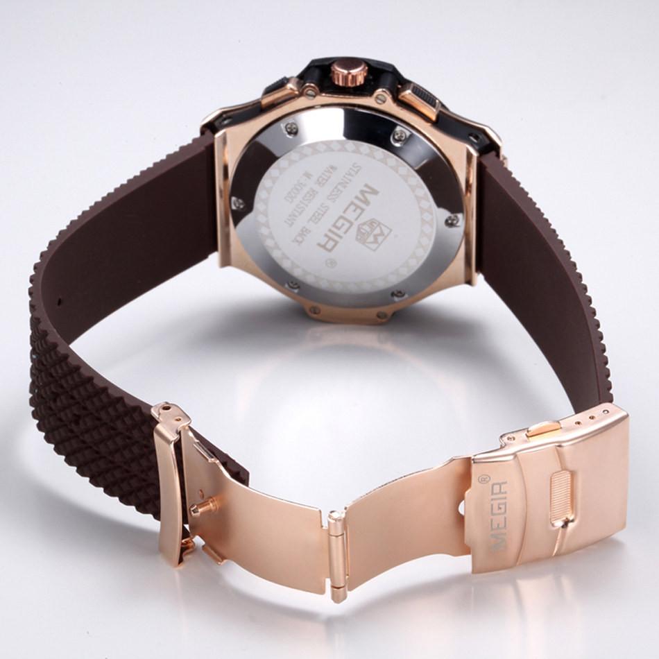 MEGIR Мужчины Цифровые Кварцевые Часы Горячая Продажа Brand Спортивные Часы Лучшие Качества Военно Роскошные Военные Часы Мужчины Relogio Masculino