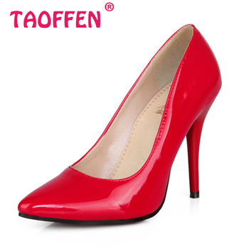 Size 32-44 Women Stiletto High Heel Shoes Pointed Toe Sexy Quality Brand Wedding Fashion Heeled Sexy Pumps Heels Shoes P16661