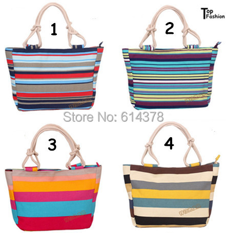 2015 Hot Selling Women's Bag Canvas Handbags Fashion Large Beach Bags Shoulder Bag Drop shipping(China (Mainland))