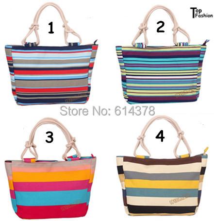2015 Hot Selling Women's Bag Canvas Handbags Fashion Large Beach Bags Shoulder Bag Drop shipping(China (Mainland))