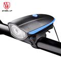 WHEEL UP USB Charging 240 lumen IPX4 Electric Horn Bicycle Night Riding Warning Horn Light Bike