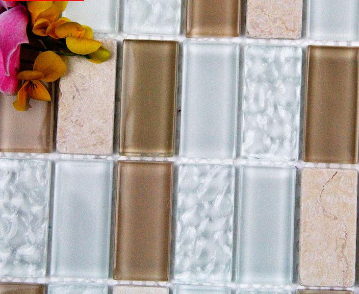 Striscia di trasporto libero pietra di vetro mosaico , mosaico ...