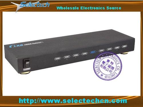 1x8 1080P HDMI splitter box SE-HDMI-318(China (Mainland))