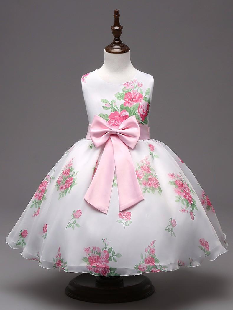 flower girl wedding party dress