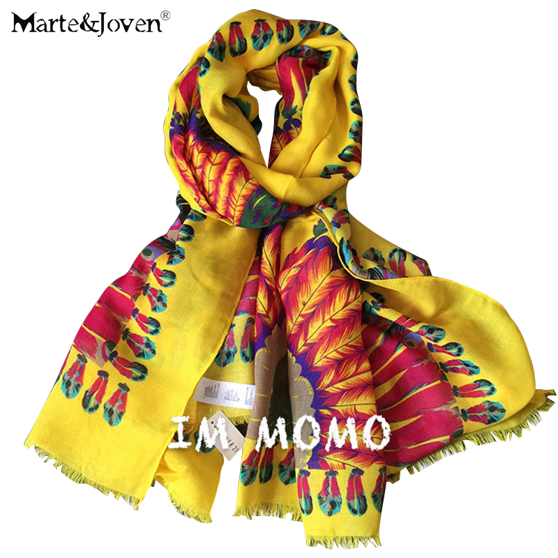 Fashion brand UV-Protecting Ladies Foulard Indian Tribe Ethnic Style Feather Scarves Women Personalized Long Cotton Scarfs(China (Mainland))