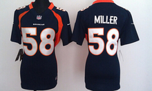 100% Stitiched,Denver ,Von Miller for mens and womens,youth,camouflage(China (Mainland))