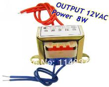 8 Вт е . и . ферритовыми сердечниками вход 220 В 50 Гц выход 12VAC вертикальная гора электрический трансформатор