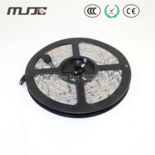 Synchronously 25M SMD5050 Waterproof IP65 RGB LED Stripe+ IR 44Keys RGB Controller+12V 350W power supply+Amplifier+Connectors(China (Mainland))