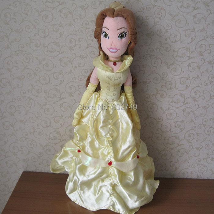 Princess Belle doll plush toys 50cm Beauty and the Beast Belle Plush Toys<br><br>Aliexpress