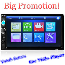 2 Din Car Radio MP5 Player 7'' HD Touch Screen Bluetooth Phone Stereo Radio FM/MP3/MP4/Audio/Video/USB Auto Electronics In Dash(China (Mainland))