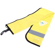 43*6.5 Inch Yellow EZDIVE Scuba Durable Night Diving Surface Marker Buoy Safty Sausage with Reflector Mark(China (Mainland))
