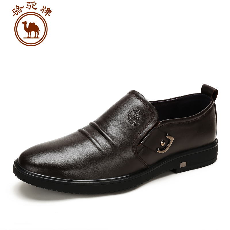 CAMEL New autumn and winter 2015 mens business casual leather shoes British style office career shoes slip on W532047130<br><br>Aliexpress