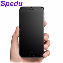 6S 6 plus No Fingerprint Frosted Tempered Glass phone cases For Apple iphone 6 6s plus Matte mobile phone cover For iphone6