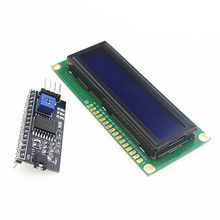 Buy Free 1602 16x2 HD44780 Character LCD /w IIC/I2C Serial Interface Adapter Module for $2.00 in AliExpress store
