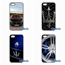 Cover Samsung Galaxy S S2 S3 S4 S5 MINI S6 S7 edge Plus Note 2 3 4 5 Maserati Car Logo Hard Phone Case - Left Bank store