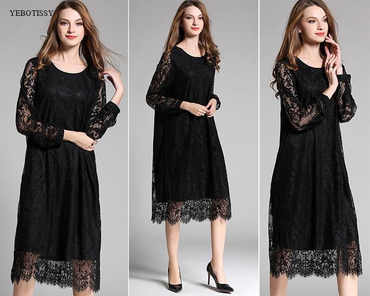lace dress 2017 plus size (9)