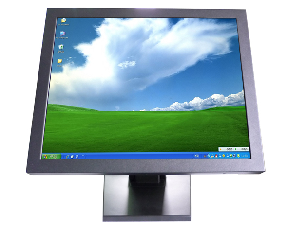 "19"" desktop touch monitor, usb infrared lcd touch screen monitor with VGA for interactive display(China (Mainland))"