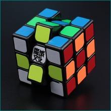 verbesserte Version moyu aolong v2 57mm 3x3x3 schwarz Geschwindigkeit würfel smoothspecial gute qualität Magie puzzle twist puzzles spielzeug(China (Mainland))
