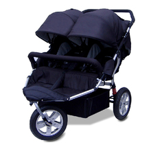 Three Wheels Double Seat Baby Stroller For Twin(China (Mainland))