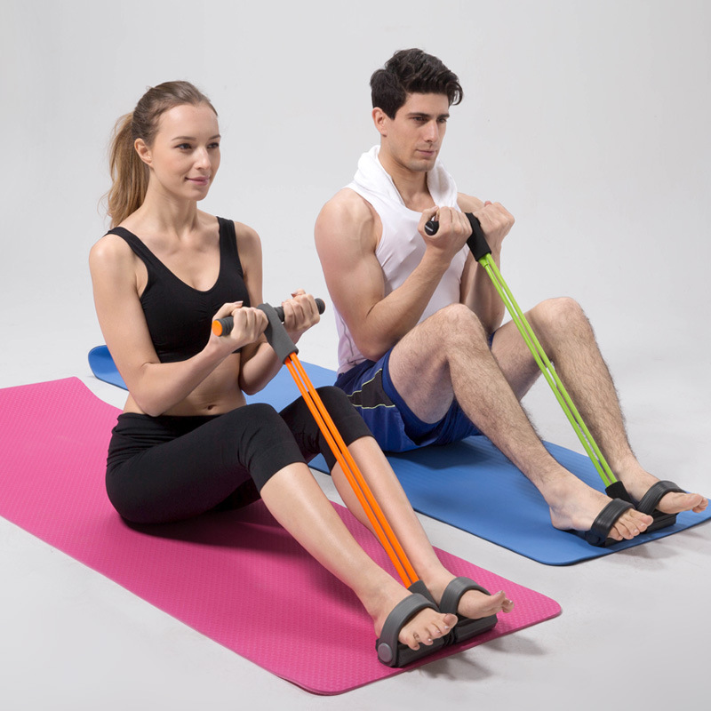 New Latex Resistance Training Bands Pull up Body Trimmer Exercise Pedal Exerciser Fashion Body Fitness Crossfit