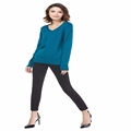 Knitbest Autumn Winter Sweaters Brand New Designs Soft Cotton Classic Loose Styles For Girl Lady s