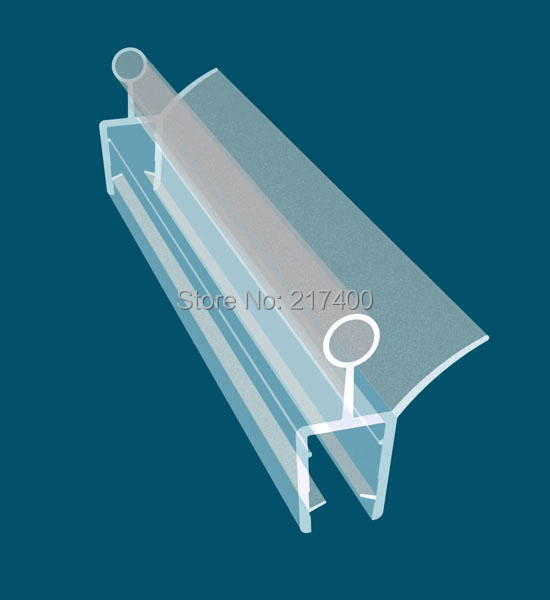 Free Shipping Bath Shower Screen Door Seal Strip Glass