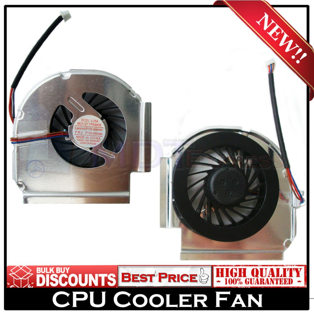 New! Free Shipping CPU Laptop Cooler Cooling Fan for IBM Lenovo T61 T61P R61 42W2460 42W2461 42W2462 42W2463(China (Mainland))