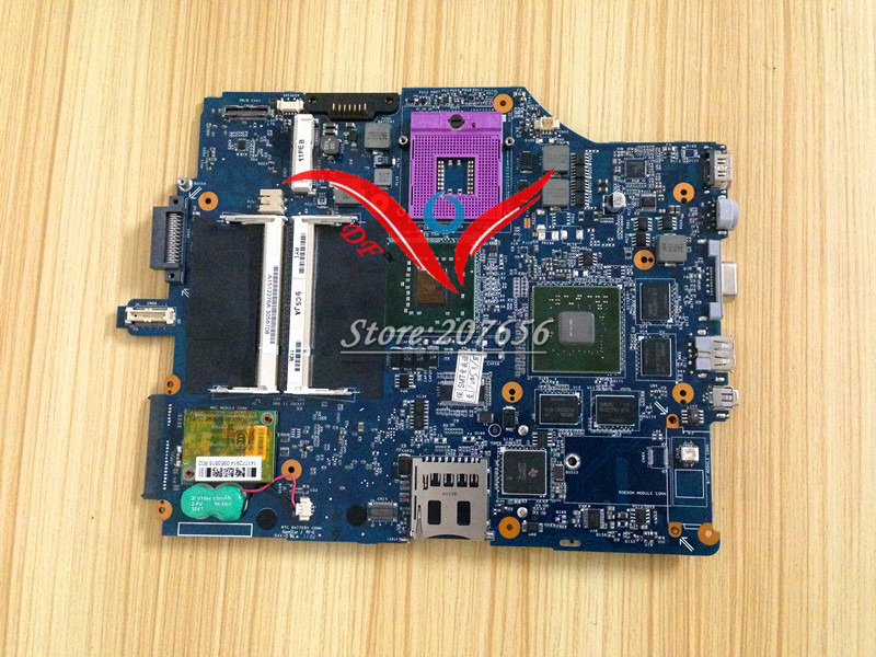 NEW Original MBX-165 MS92 motherboard For Sony Vaio VGN-FZ Series Laptop Notebook PC Motherboard Main board 1P-007B500-8011(China (Mainland))