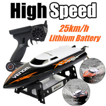 Free shipping 2.4G RC Boat UDI udi001 boat Infinitely Variable Speeds/high Speed Racing Boat 32CM 25km/h Best Gift(China (Mainland))