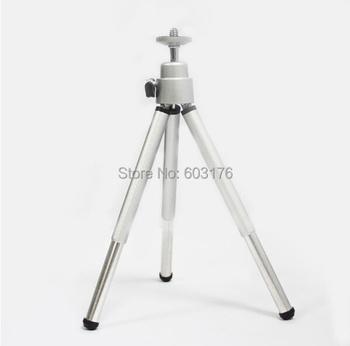 Free shipping Mini Tripod Aluminum Metal Lightweight Tripod Stand Mount For Digital Camera Webcam Phone DV Tripod