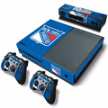 NHL Edmonton Oilers Skin Sticker Decal For Microsoft Xbox One Console and Kinect and 2 Controllers Stickers Accessory